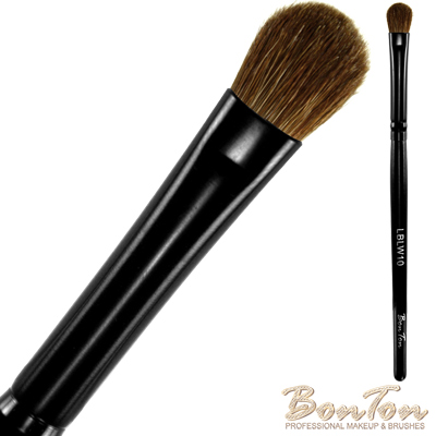 BonTon 墨黑系列 眼影刷(S) LBLW10 高級小馬毛