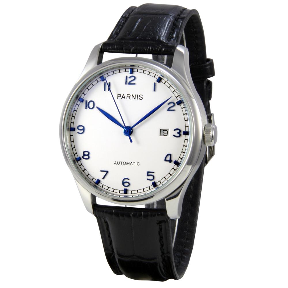 PARNIS 動力儲存自動機械錶 PA3028 底蓋鏤空 / 42mm