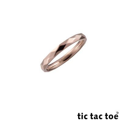 tic tac toe 玩美白鋼女尾戒