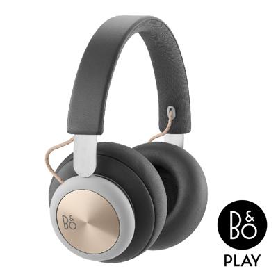 B&O PLAY H4藍牙無線耳罩式耳機炭灰金