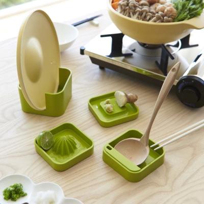 YAMAZAKI SMART料理道具四件組-綠
