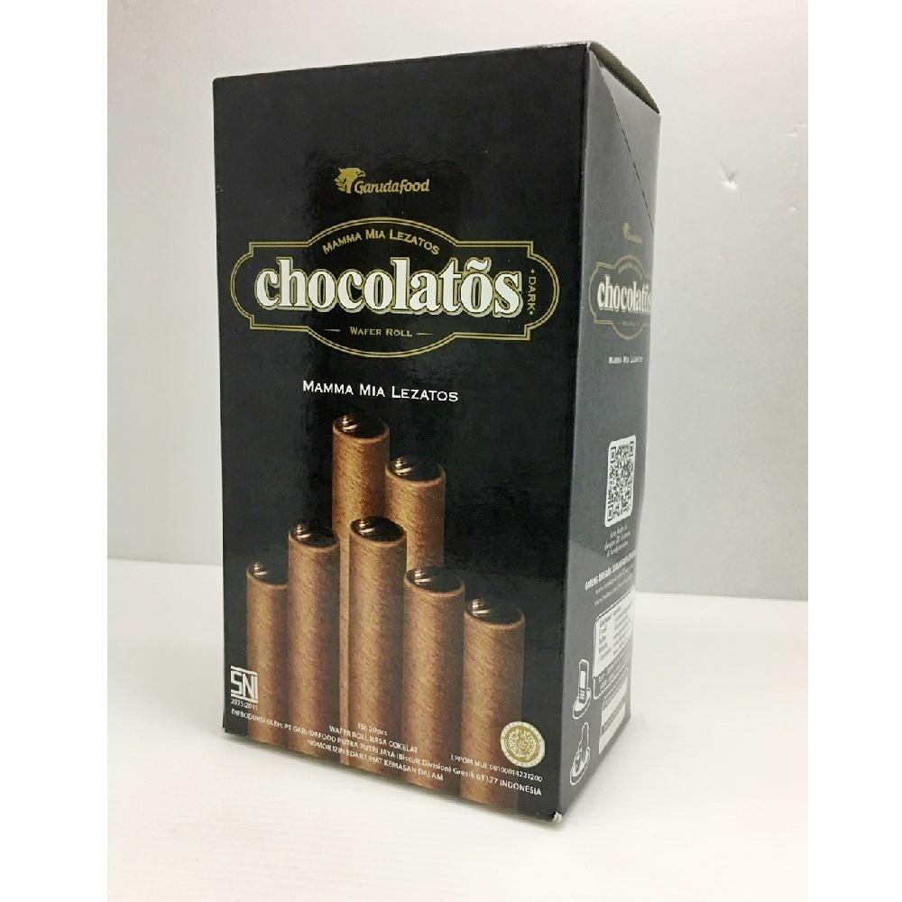 Garudafood 特濃黑巧克力威化捲(16gx20包)