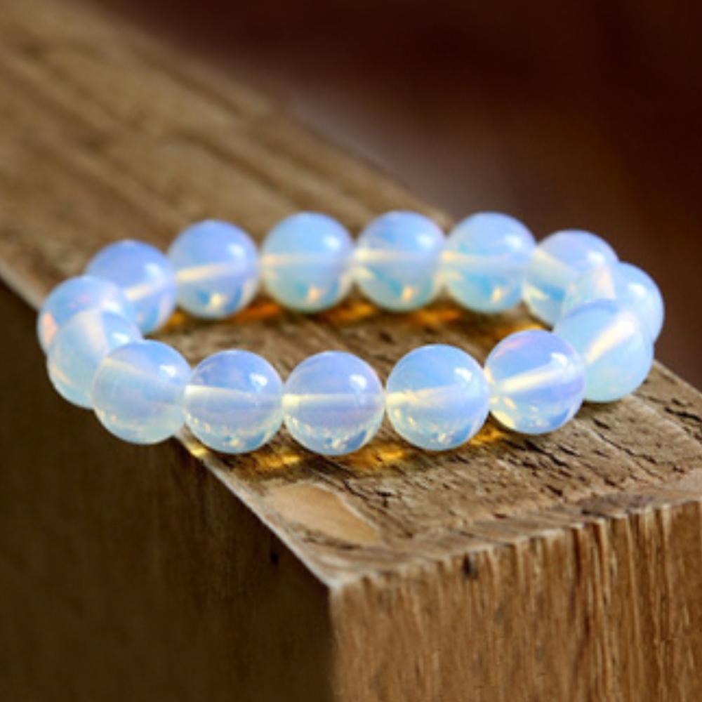 Hera頂級清亮蛋白石手珠(10mm)