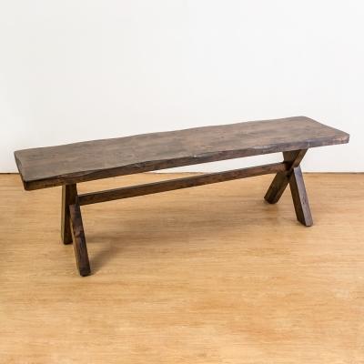 Boden-奧斯曼仿舊風格實木長凳/椅凳150x38x46cm