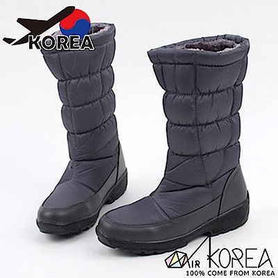 AIRKOREA韓國空運-正韓鋪棉拼接內刷毛休閒懶