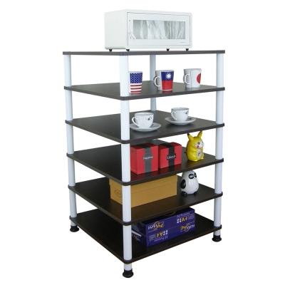 Dr. DIY 60x60公分-六層置物架/電器架(三色可選)