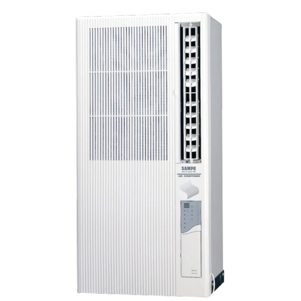 【福利品】SAMPO聲寶 3-5坪 定頻直立式窗型冷氣 AT-PC122