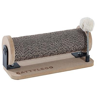 派斯威特-CATTYLEGO 貓咪樂購瓦楞滾輪玩具組-PCT-2483