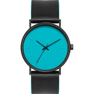 ZOOM - Lounge 隨性時光設計腕錶-藍/41mm