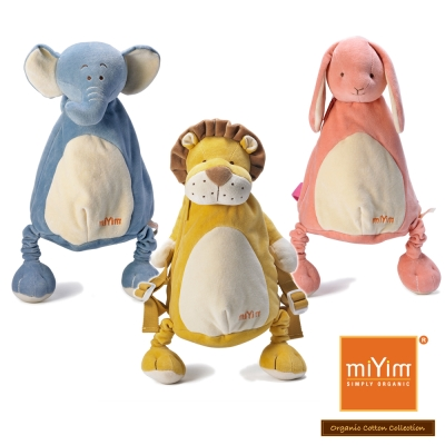 美國miYim有機棉 動物後背包
