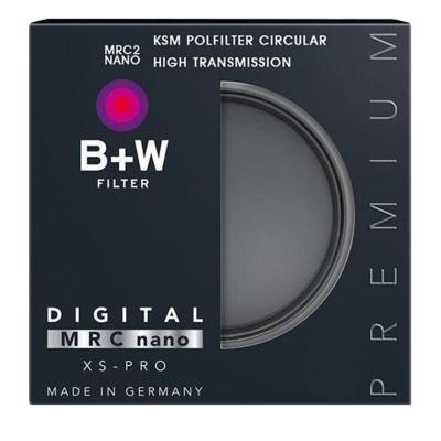 B+W XS-PRO KSM HTC-PL高透光凱氏偏光鏡(55mm/公司貨)