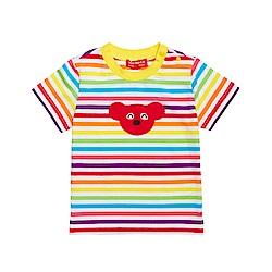 WHY AND 1/2 mini 普普熊棉質萊卡T恤 0M-4Y