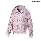 K-Swiss Light Windbreaker輕量風衣外套-女-粉紅
