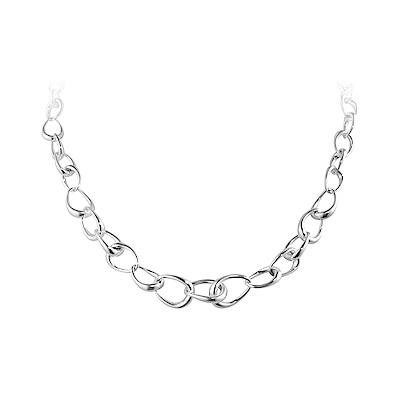GEORG JENSEN -OFFSPRING 環形純銀項鍊