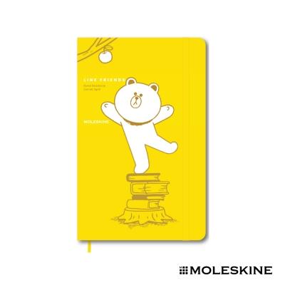 MOLESKINE 限量版 LINE 筆記本(L/硬殼/橫條)