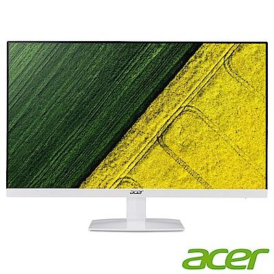 Acer HA 270   27 型IPS纖薄美型無邊框電腦螢幕(福利品)