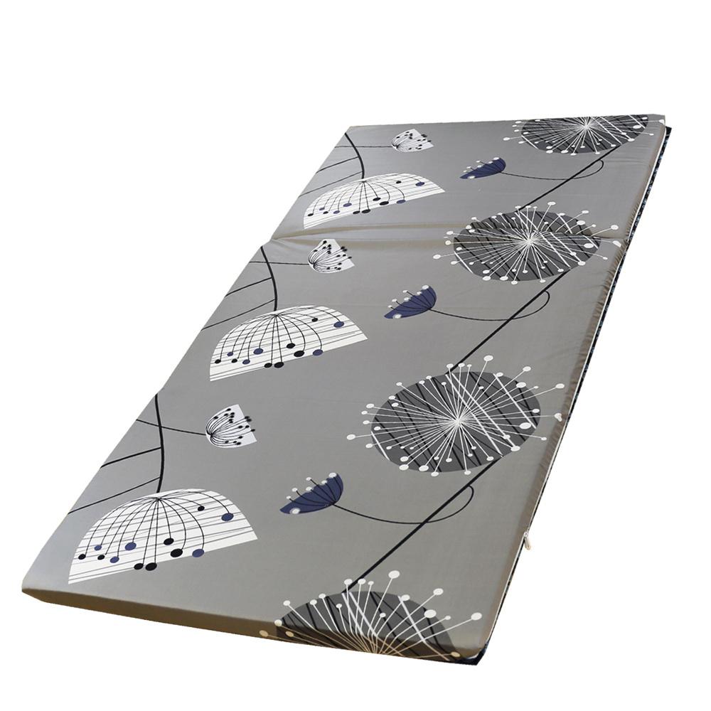 依文絲Aeneas 北歐時尚日式純棉中青便利床墊-單人3.5x6尺