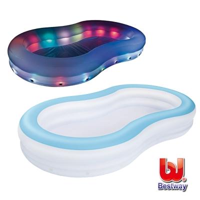 《凡太奇》Bestway。變色彩燈家庭充氣戲水/泳池 54135