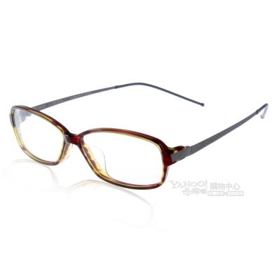 JULIO眼鏡 完美工藝/琥珀棕綠#ZURICH YLB