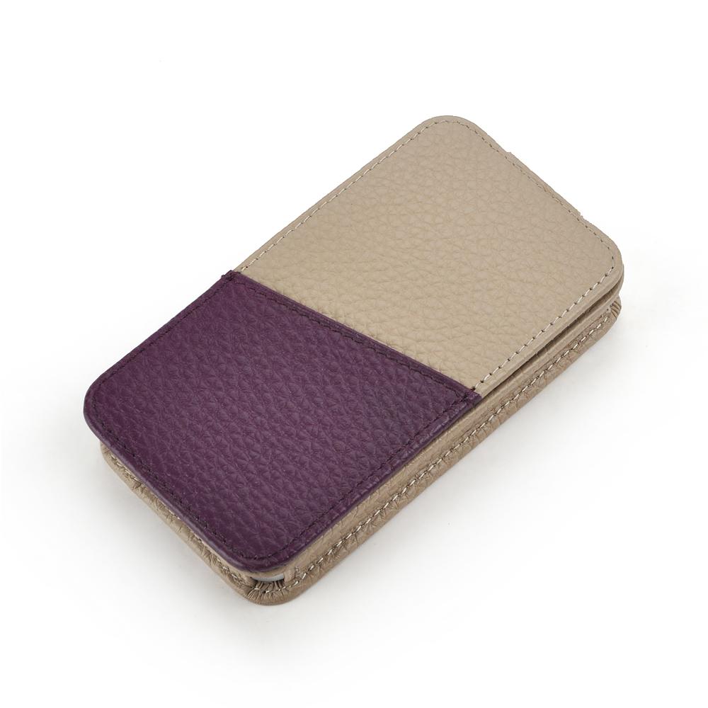 皮套王精品手工 Style-U6 PDA式上蓋拼皮夾層 客製化皮套