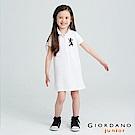GIORDANO   童裝勝利獅王POLO領連身裙-29 標誌白