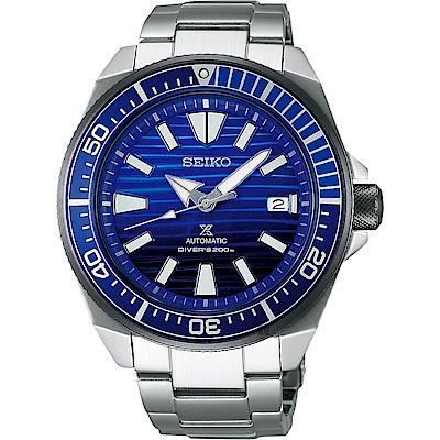SEIKO精工 Prospex 200米潛水愛海洋藍鯨機械錶-45mm