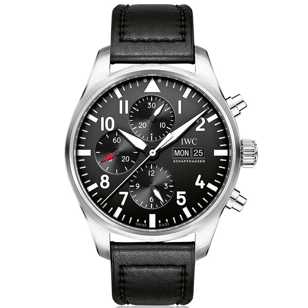IWC 萬國錶 飛行員計時腕錶(IW377709)-43mm