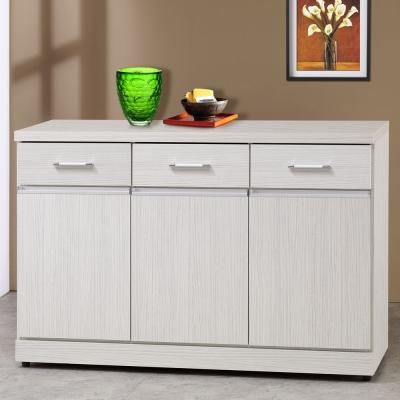 Homelike 安娜4尺收納餐櫃-121x41x82cm