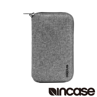 INCASE EO Passport Wallet 防盜科技拉鍊護照夾 (麻灰)