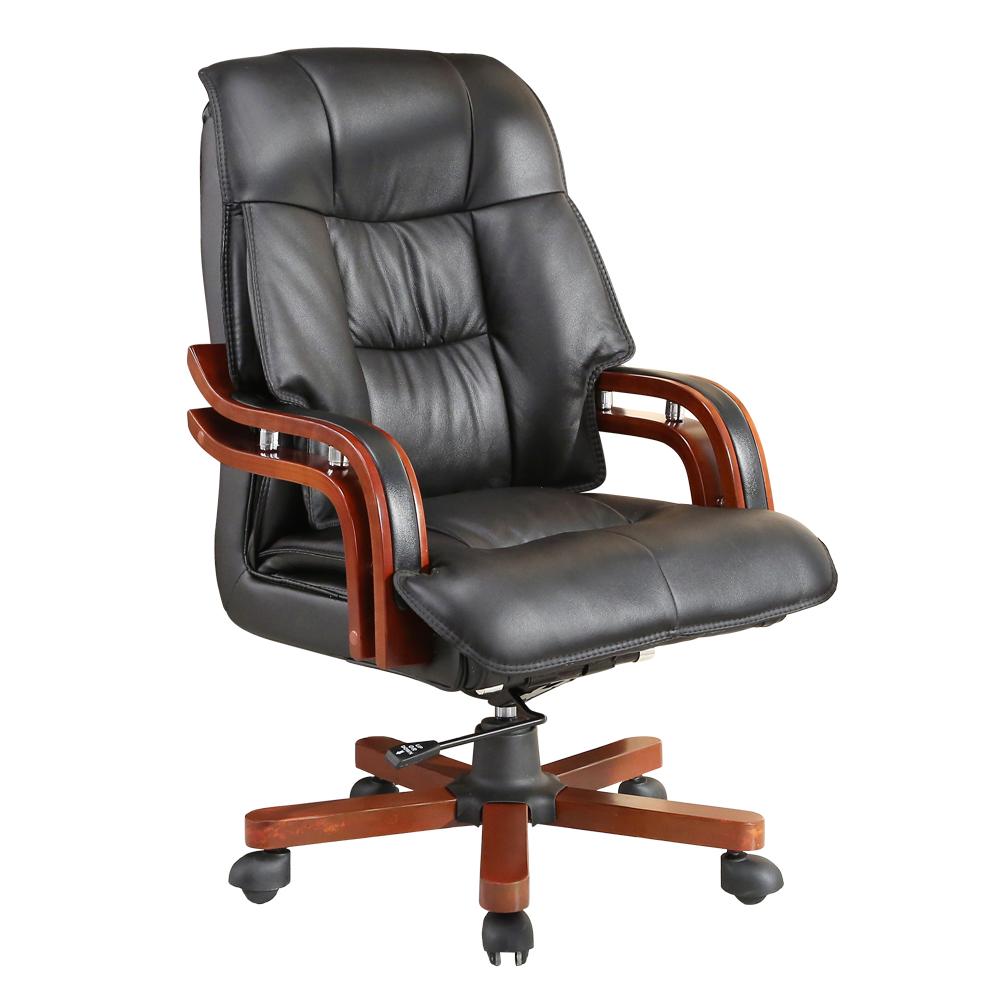LOGIS-阿古列斯真皮主管辦公椅 電腦椅 皮椅