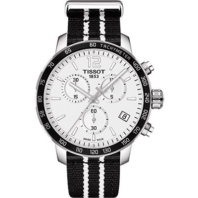 TISSOT天梭 X NBA :聖安東尼奧馬刺隊特別版腕錶-42mm