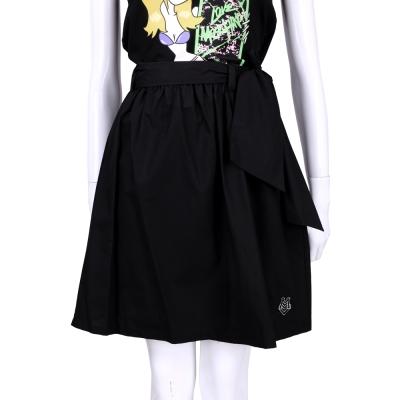 LOVE MOSCHINO 黑色綁帶設計及膝裙