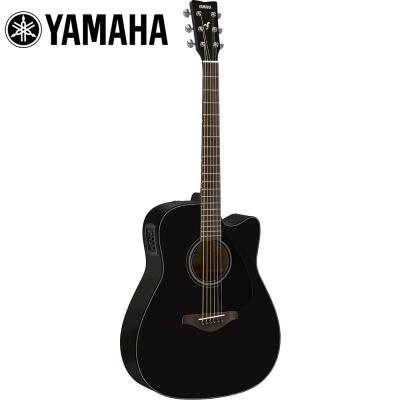YAMAHA FGX800CBL 電民謠木吉他 耀岩黑色