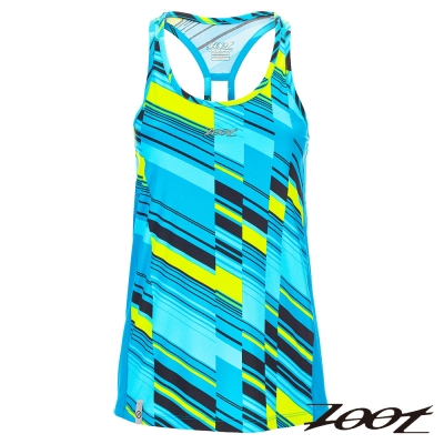 ZOOT 頂級極致型輕羽級吸排運動背心(女)Z1604004(沁藍)
