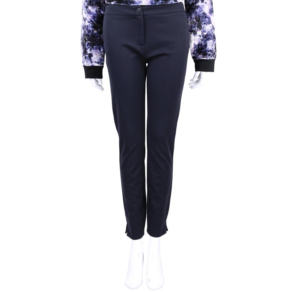 SCERVINO 深藍色開管設計彈性長褲