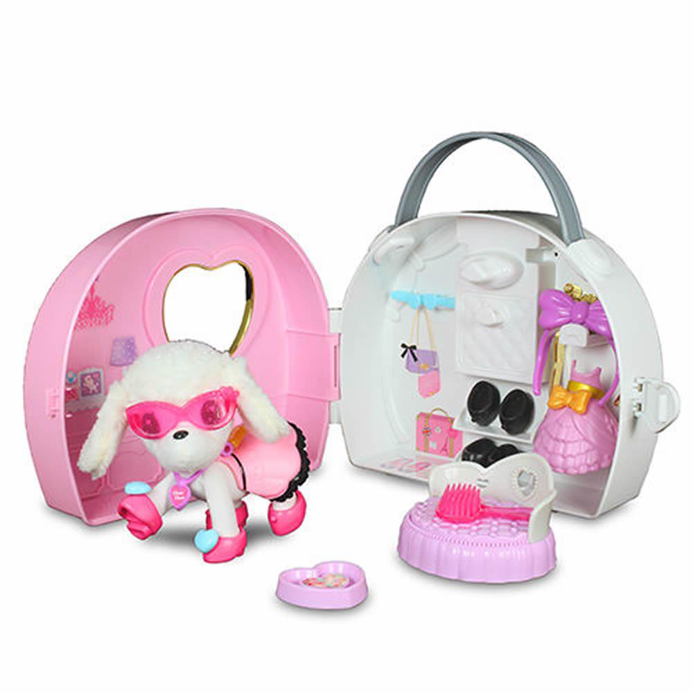 MIMI World - 可愛粉紅提包狗