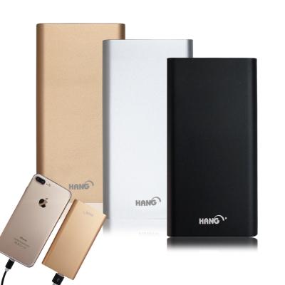 HANG 13000mAh流線感輕薄機 iPhone/microUSB 雙輸入行動電源