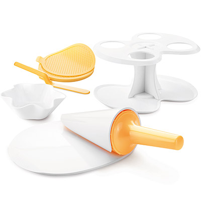 TESCOMA Della冰淇淋甜筒烤墊+塑型模