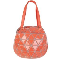 ISSEY MIYAKE 三宅一生BAOBAO幾何球型手提包(西瓜紅)