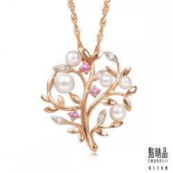 點睛品 La Pelle-Petite系列 18K玫瑰金鑽石