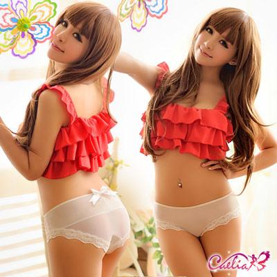 內褲 俏麗柔美內褲(奶白)  Caelia