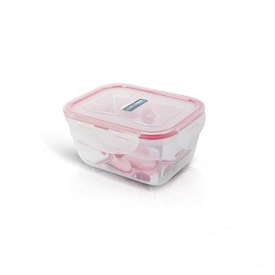 樂扣樂扣PP保鮮盒EASY MATCH 550ML/紅色(8H)