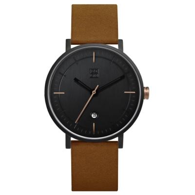 ZOOM STAGE 實踐者旅人腕錶-經典黑/42mm