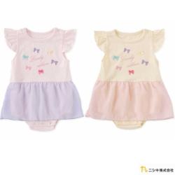 Nishiki 日本株式會社 小蝴蝶結紗裙短袖包屁衣