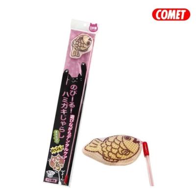 日本COMET 木天蓼伸縮逗貓棒 鯛魚燒