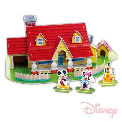 《凡太奇》美國品牌【迪士尼DISNEY】3D立體模型組合屋-米奇屋