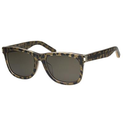Saint Laurent Paris -時尚太陽眼鏡 (琥珀色)