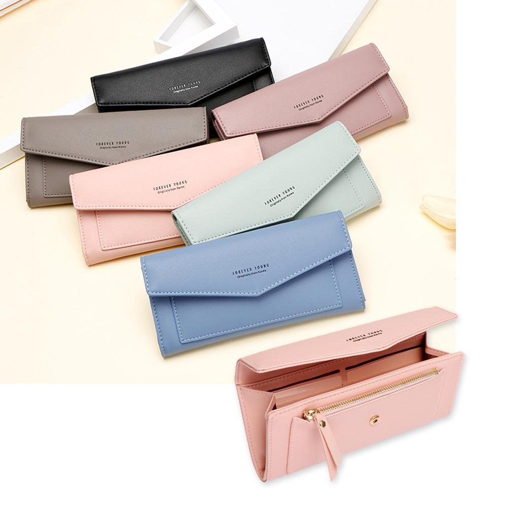 leaper大容量多功能女長夾手機包錢包