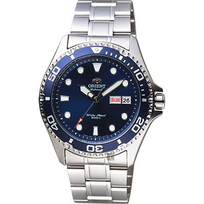 ORIENT東方 Sport 200米潛水機械錶-藍/41.5mm
