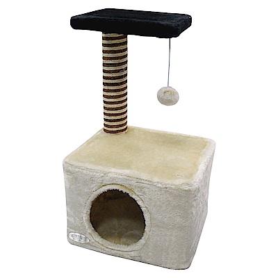 派斯威特-跳台世家貓跳台 組合式雙層方形山洞